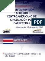Acuerdo Centroamericano de Circulación Por Carreteras Final 13-8-13 (1)