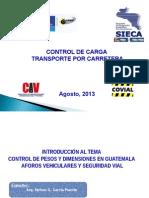 Presentacion Pesos y Dimensiones_sieca_agosto-2013