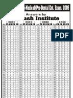 aipmt2009-screening solutions-aakashinstitute