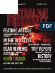 Australian Bushcraft Magazine Launch Issue - August 2014