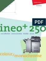 Brochure Ineo 250 Eng A4