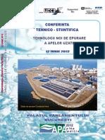 Conferinta Tehnico-stiintifica - Tehnologii Noi de Epurare A