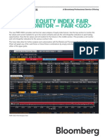 Equity Index Fair Value Monitor