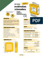 03b- Convertidor Para Electroválvulas (Entrada 0-10V, 4-20mA, Potenciómetro)