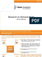 Research on Demand Service Offering