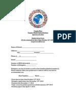 A.registration Form Bis