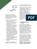 Process and Instrumentation Diagram Development