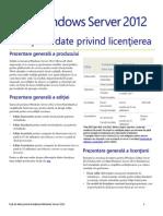 WS2012 Licensing-Pricing Datasheet RO