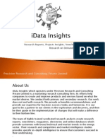 iData Insights Reports Catalouge