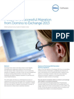 7 Steps for a Successful Migration From Domino to Exchange 2013 Whitepaper 12980