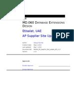 MD060 AP Supplier Site Update API v1.0