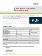 Webui Test Studioss