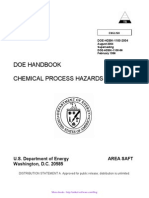 DOE-Chemical Process Hazard Analysis