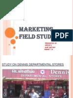 Marketing Field Study