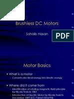 Sohaib Hasan - Brushless DC Motors