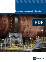 Rotary Kilns for Cement Plants