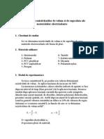 (01) Determinarea Rezistivitatiii de Volum
