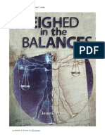 Weighed in the Balances by Jesse C. Jones