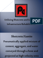 Shotcrete and Guniting