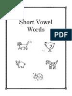 Short Vowel Words July 09