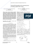 A Complex-Method-based PSO Algorithm for the Maximum Power