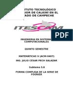 Ejercicios de Fourier (2)