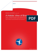 A Holistic View of Brand