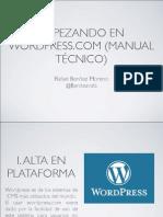 Wordpress.com MBA Postgrado