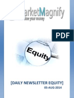 Daily Equity Market Tips and Technical Overview