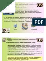 Costos I presentaciones I 2009