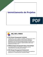 Gerenciamento de Projetos - 1