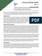 TN1-Qualitative Sorting Tests Rev 0 Oct 2008