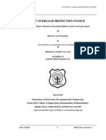 33260587 Automatic Overload Protection System Mini Project Report