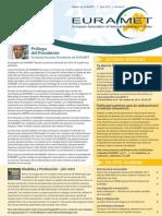 EURAMET Newsletter Issue 8 July 2013 Spanish
