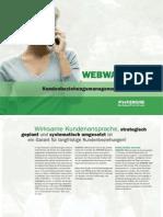 WEBWARE CRM - Kundenbeziehungsmanagement im Internet