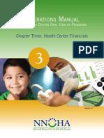 healthcenter financials