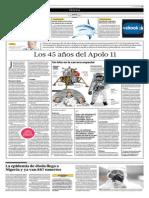 Los 45 Años de Apolo 11