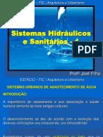 SIATEMAS HIDRÁULICOS E SANITÁRIOS 1.pptx