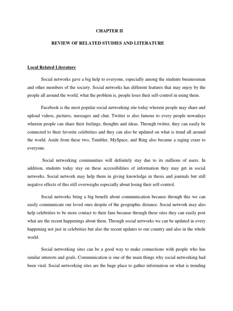 "thesis on social networking sites Impact of social media on society sites such as twitter ""the social capital of locative social media"" thesis/dissertation chapter."