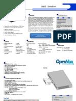 OpenVox IX132 Appliance Datasheet