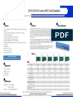 OpenVox D130/DE130/D230/DE230/D430/DE430 Series PRI Card Datasheet