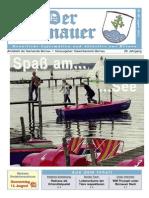 Der Bernauer - August 2014