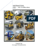 Construction Equipments an Overview