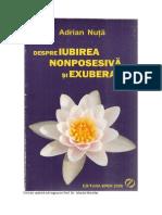 Adrian Nuta Despre Iubirea Nonposesiva Si Exuberanta Rearanjata 32 Pag