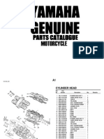 1993 Yamaha XVZ13D_E_EC Parts Catalog