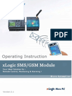 Manual Del Modulo SMS Xlogic-plc