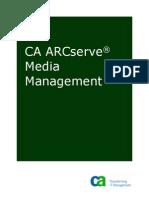 CA ARCserve Media Management -Green Book ENU