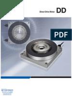 IAI Direct Drive Motor Specsheet