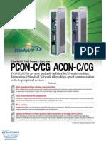IAI Ethernet IP PCON ACON Specsheet