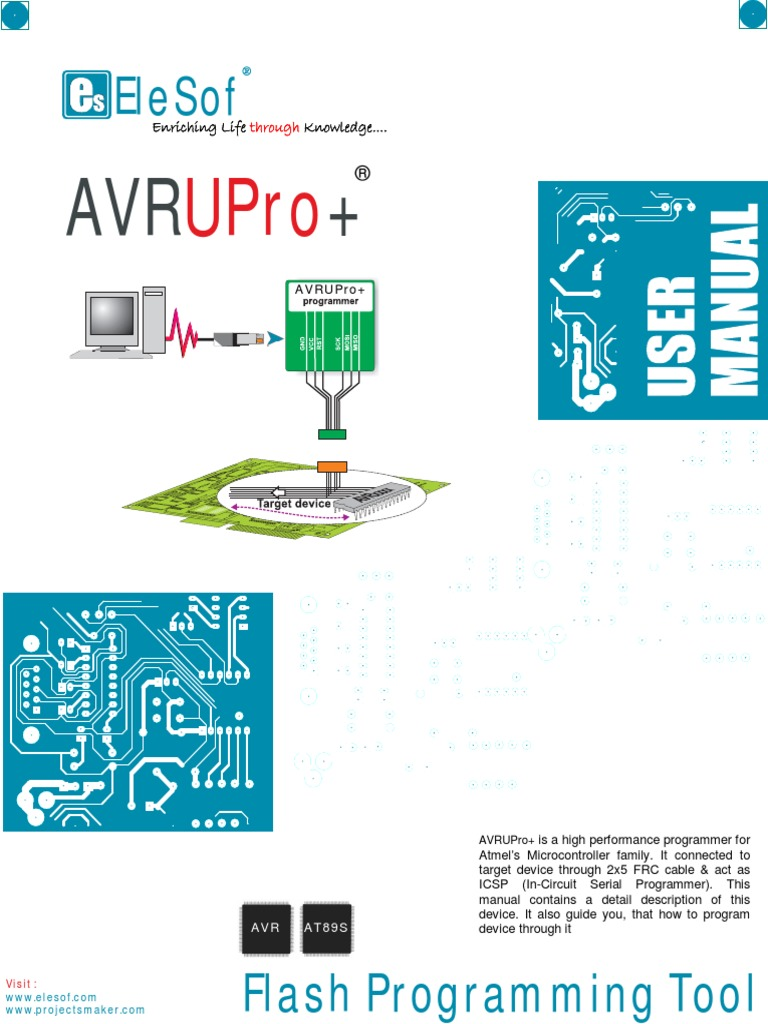 Avr U Pro Microcontroller Office Equipment Make Programmable Line Follower Robot Based Atmega8535